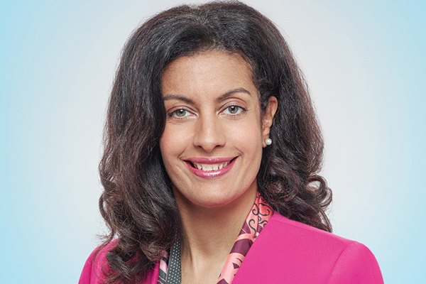 Dominique Anglade, Leader of the Liberal Party of Quebec. PLQ ...